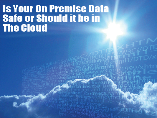 Should your data be in the cloud
